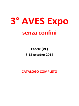 Caorle (VE) - 3° AVES Expo