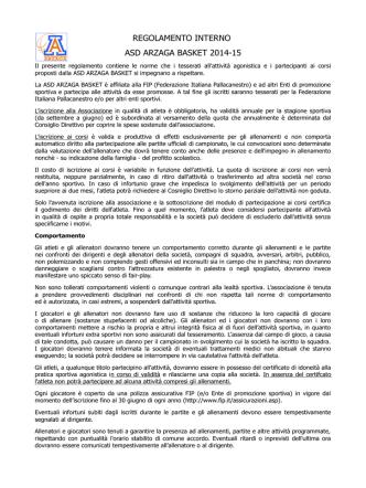 clicca qui - Arzaga Sport