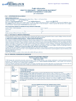 Foglio informativo - Banca Mediolanum