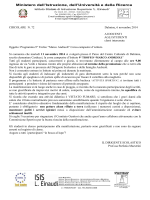 """Programma 9° Trofeo """"Marco Andreoli"""""""