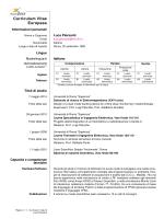 Curriculum Vitae Europass - Dipartimento SBAI