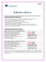 Banca Sella: Strutture Ricettive - Unione del Commercio di Milano