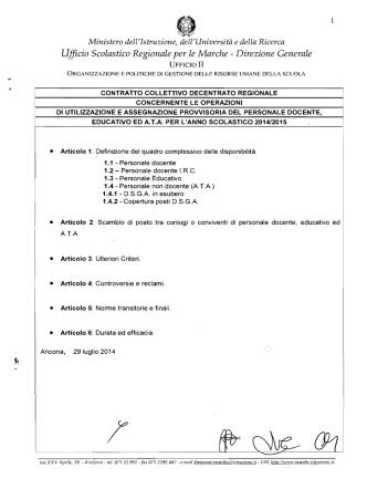 C.C.D.R. concernente le utilizzazioni e le assegnazioni