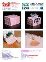 Nome prodotto : Panno PIG® HAZ-MAT doppio spessore art