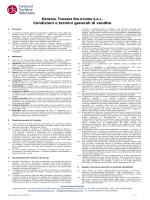 Condizioni e termini generali di vendita - GTS