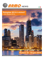 ARMO Newsletter June 2014 Italian