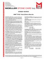 Detergenti per pietra: HMK R152 Pasta Elimina Macchia