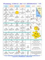 pdf planning corsi