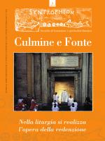 Culmine e Fonte - Vicariato di Roma • Ufficio Liturgico