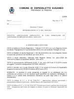 Determina n. 23 - ASSEGNAZIONE IMPEGNATIVA DI CURA