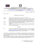 decreto pubblicazione albo - S.Di Giacomo