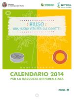Calendario_2014_zona_A - Comune di Carmignano di Brenta