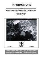 Informatore n°5 - Museo di Storia Naturale di Rosignano