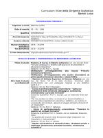 curriculum vitae - Istituto Comprensivo Completo di Asola