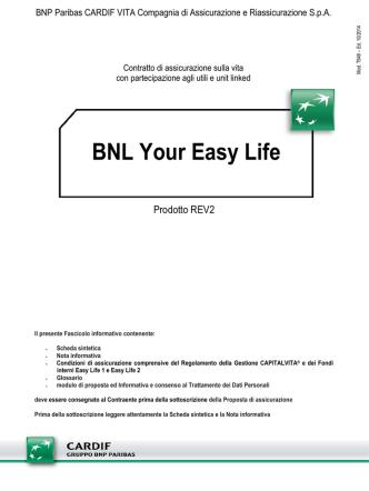 BNL Your Easy Life - BNP Paribas Cardif