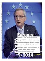 Unità Europea - 2014, Numero 5 - Movimento Federalista Europeo