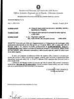 Bando Guardarobiere - Ufficio Scolastico Regionale per le Marche