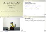 Algoritmi e Strutture Dati Introduzione al corso
