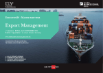 Export Management