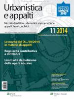 Urbanistica e Appalti nr 11 2014 - Le Banche Dati per gli Operatori