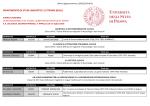 DIPARTIMENTO DI STUDI LINGUISTICI E LETTERARI (DiSLL)