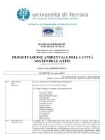 Bando di ammissione - Università degli Studi di Ferrara