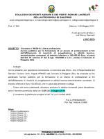 collegio dei periti agrari e dei periti agrari laureati della provincia di