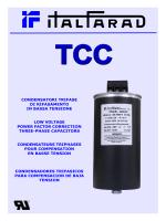 condensatori trifase di rifasamento in bassa tensione low voltage