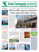 Magazine Arpa Campania Ambiente n. 8 del 30 aprile 2014