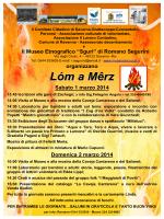 Lóm a Mêrz 2014 - museoetnosguri.it