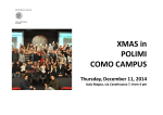 Events 2014 – Como Campus