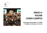 Events 2014 – Como Campus