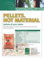 Flyer First Choice Pellets Italiano