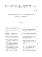 N. 32 - Senato della Repubblica