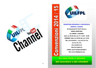 convenzioni 2014-2015 - UIL FPL Genova e Liguria