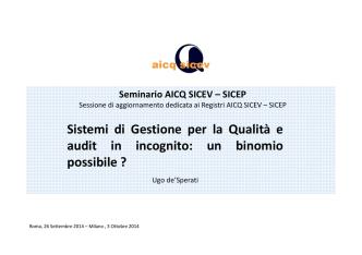 (Microsoft PowerPoint - Seminario Sicev Roma Milano