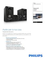 BTD2180/12 Philips Sistema musicale micro