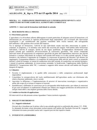 . 573 del 15 aprile 2014 pag. 1/51 - Bollettino Ufficiale della Regione