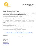 Visita il sito www.24oredinuotosiosotto.it