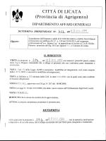CITTÀ DI LICATA (Provincia di Agrigento)