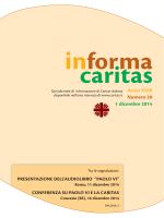 Comunicazioni - Caritas Perugia e Città della Pieve