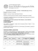 Verbale Commissione PdS n. 10 del