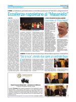 """Eccellenze napoletane al """"Masaniello"""""""