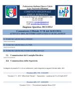 CU 38 SGS - FIGC Comitato Regionale Emilia Romagna