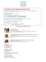 TECNOMED CENTRO MEDICO BIOLOGICO SRL
