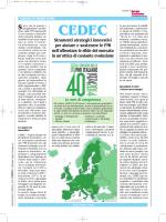 Mercato Italia Consulenza Aziendale: CEDEC