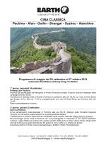 CINA CLASSICA Pechino - Xian - Guilin - Shangai