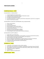 temi tesi di laurea - Dipartimento di Comunicazione e Ricerca Sociale