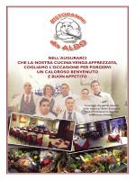 Guarda il menù! - Da Aldo Ristorante Pizzeria