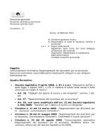 Comunicazione nominativo RLS